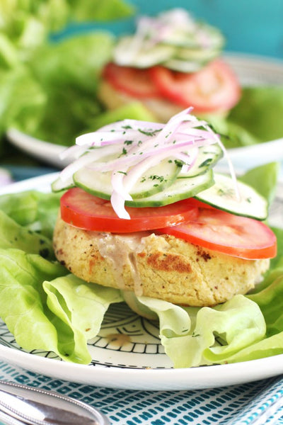 Med Chickpea Burgers