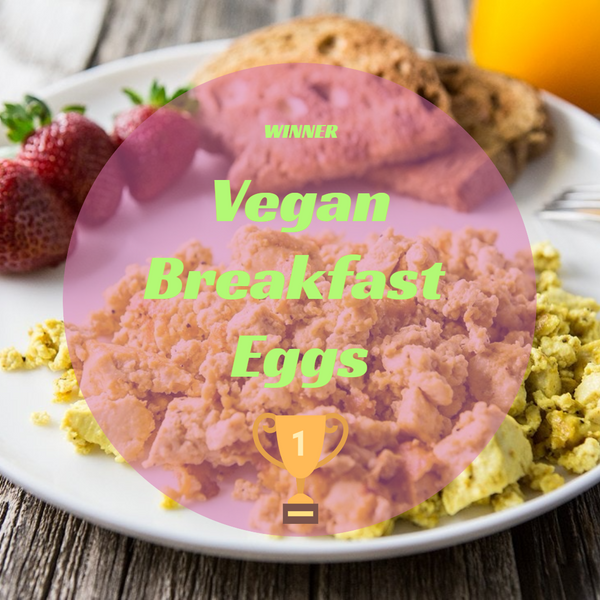 Wegan breakfast eggs winner recipe