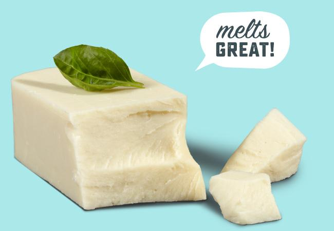 Vegan Mozzarella Cheese Block