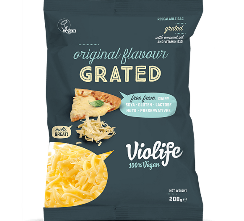 original flavour grated vegan cheese | vegan cheese shop