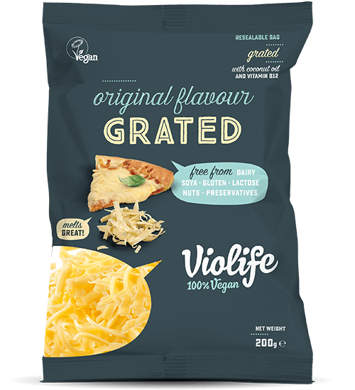 Vegan Cheese Original Flavour Grated | Vegan Cheese Shop