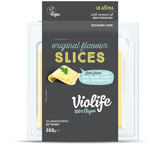 Vegan Cheese Original Flavour Slices
