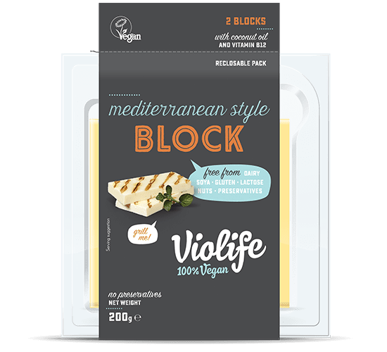 Vegan Halloumi Cheese Mediterranean Style Block | Vegan Cheese Shop