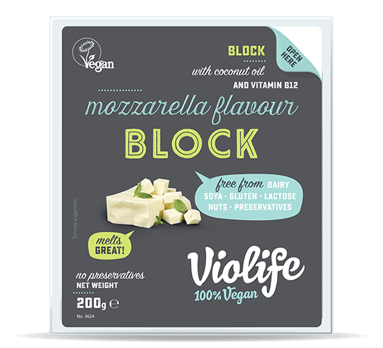 Vegan Mozzarella Cheese Flavour Block