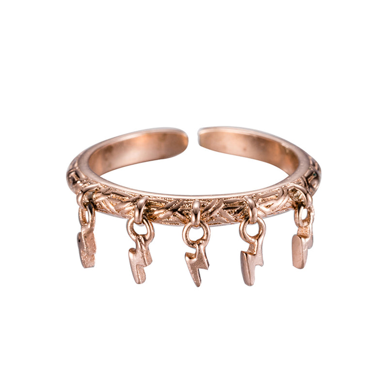 Ring Lightning Amore Rose Gold