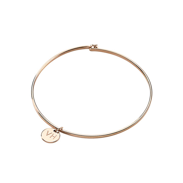 Bracelet Sudbury Hill Coin Rose Gold