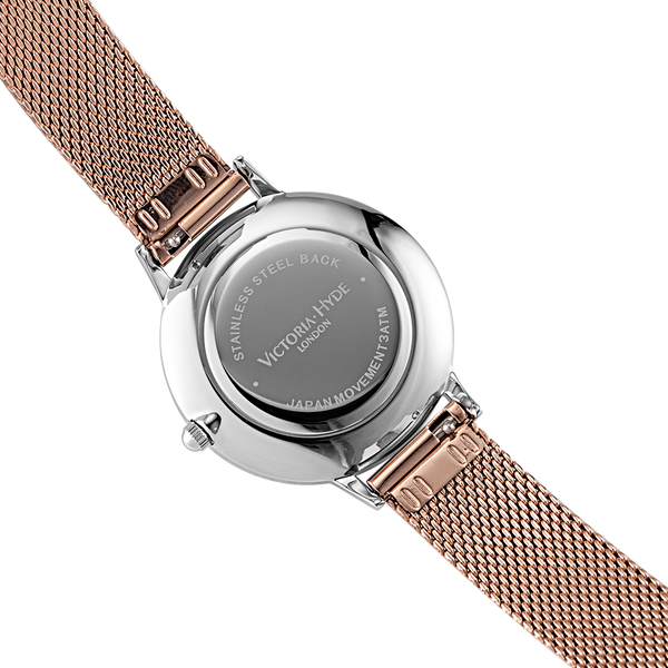 Watch Maida Vale Bow Mesh Rose Gold Silver