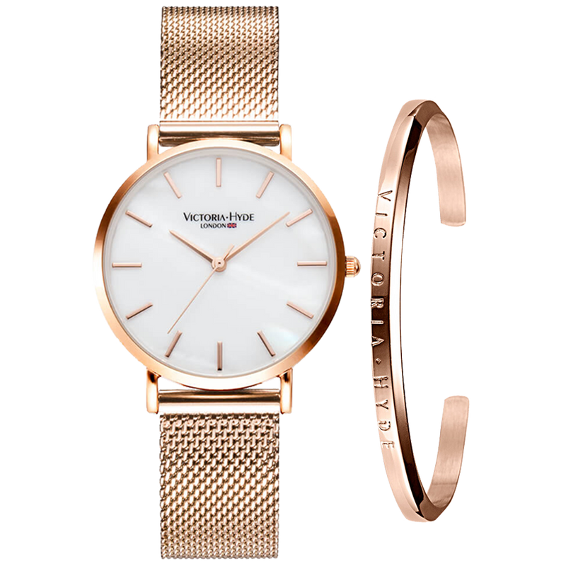 Gift Set Seven Sisters Classic Rose Gold White