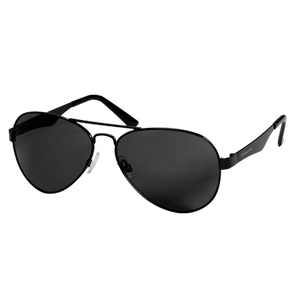 Sunglasses Elm Park Pilot Transparent Black