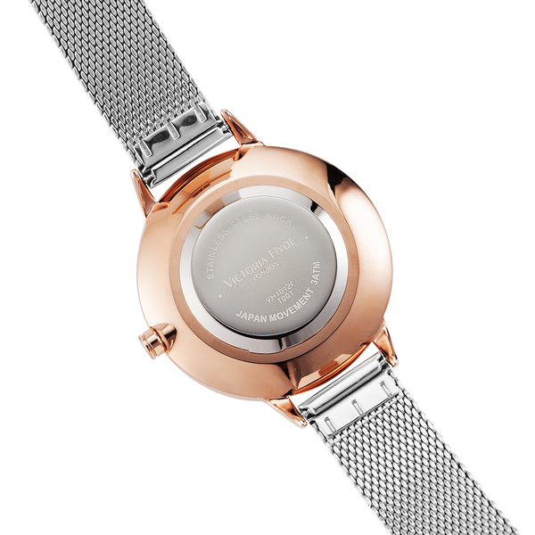 Watch Maida Vale Bird Mesh Silver Rose Gold
