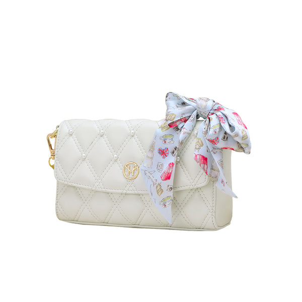 Set Pearl bag white