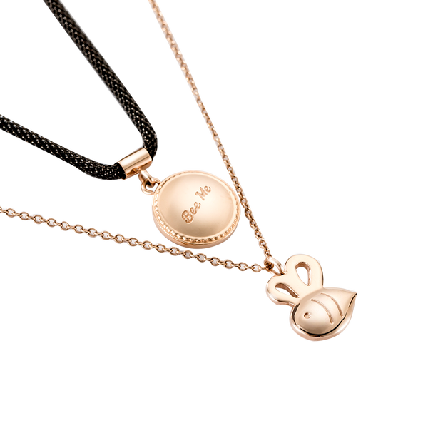 Necklace Vauxhall Bee Rose Gold