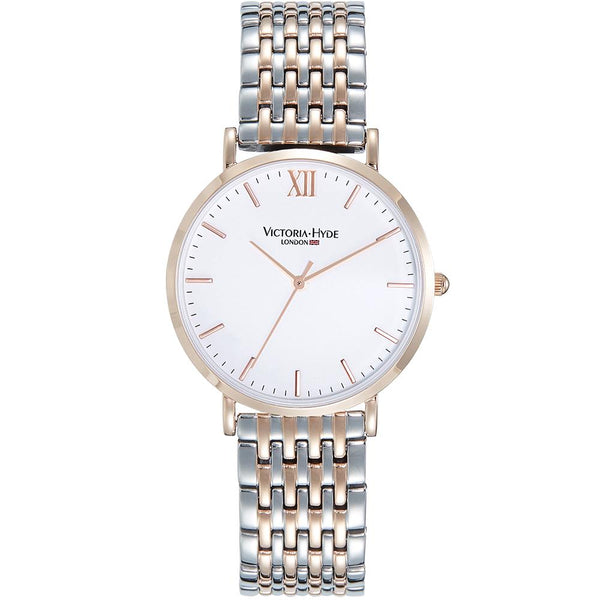 Watch Primrose Classic Metal Bicolor Rose Gold Silver