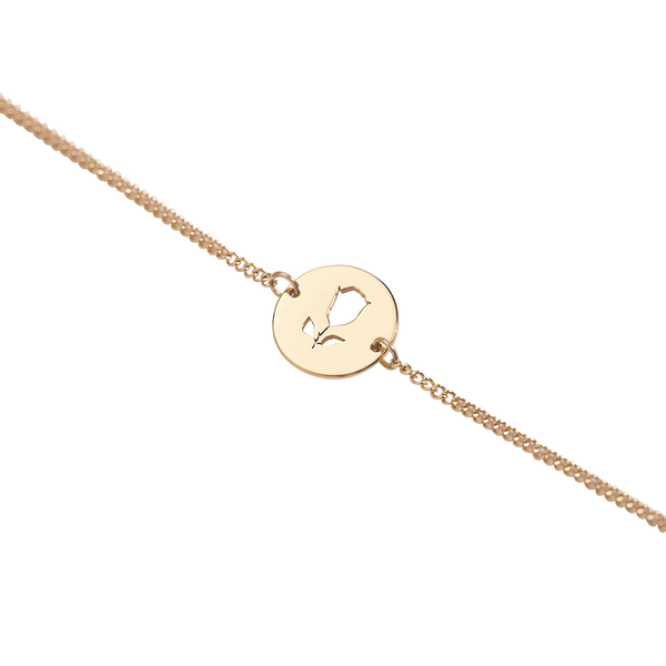 Bracelet Sudbury Hill Flower Rose Gold