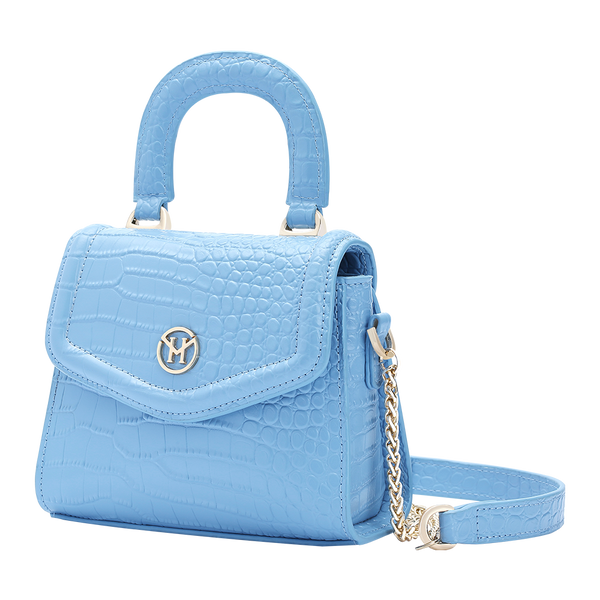 Paddington Bag Leather Blue