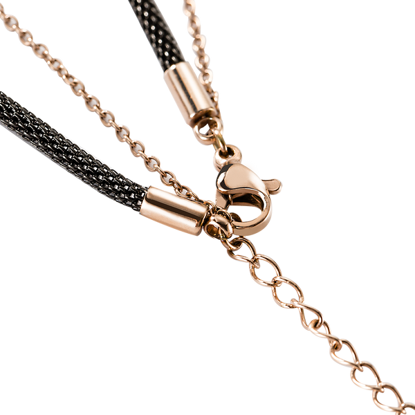 Necklace Vauxhall Butterfly Rose Gold