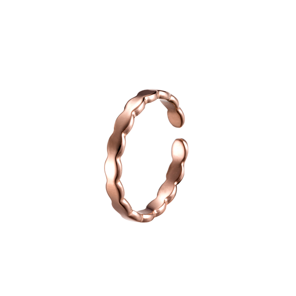 Ring Heart of Crown Rose Gold