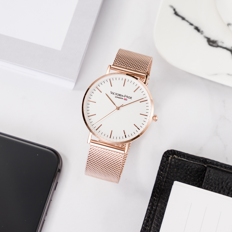 Southfields Mesh Rose Gold