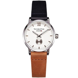 Watch London Eyes Leather Blue Brown