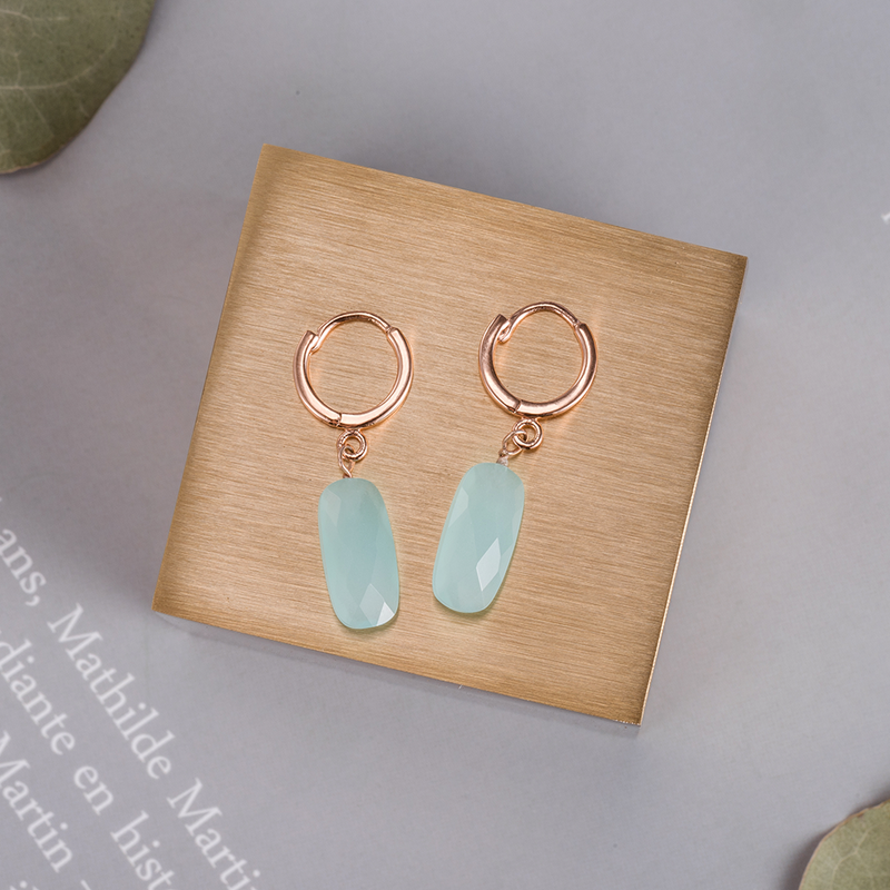 Stone Jade  earrings