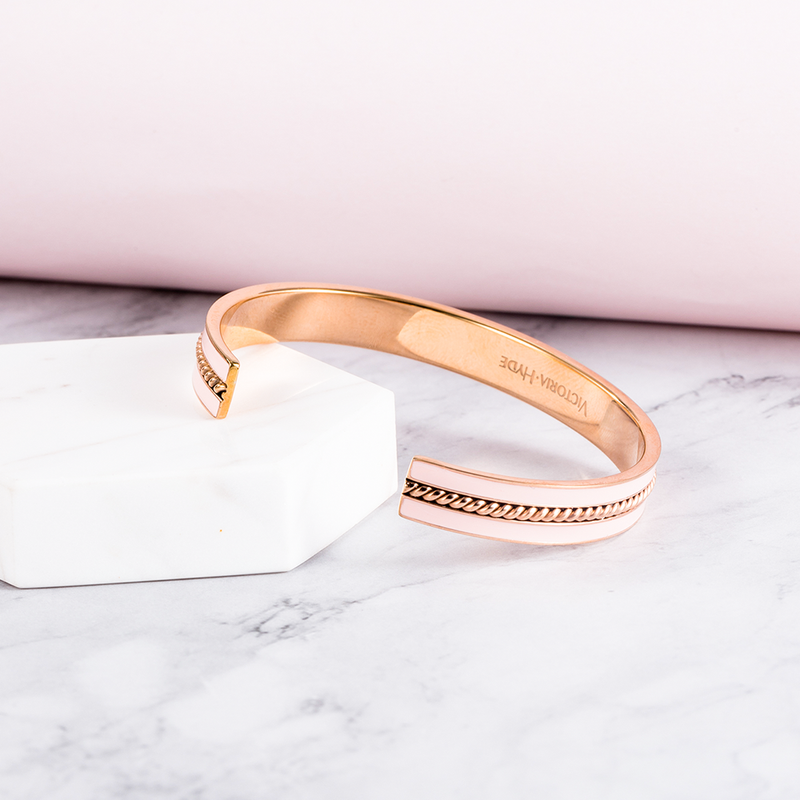 Bracelet Sloane II Bangle Pink Rose Gold