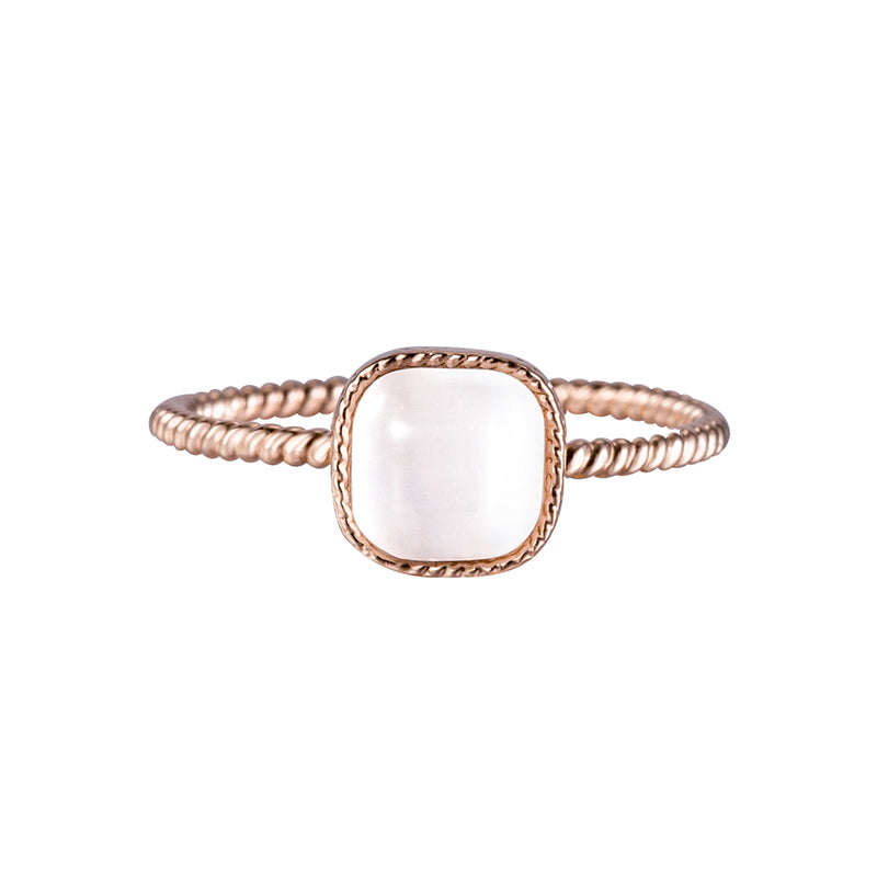 Ring Waterdrop Rose Gold