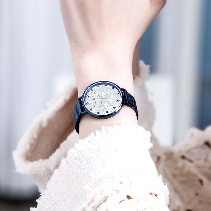 Watch Croxley Lace Mesh Blue