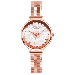 Watch Maida Vale Daisy Mesh Rose Gold