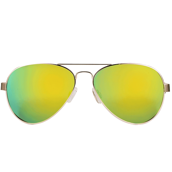 Sunglasses Elm Park Pilot Yellow Green