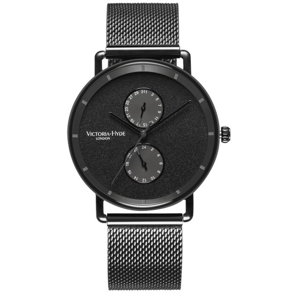 Watch Grange Hill Date Mesh Black