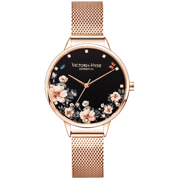 Green Park Mesh Rose Gold