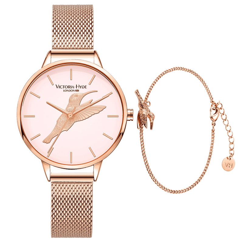 Gift Set Maida Vale Bird Rose Gold