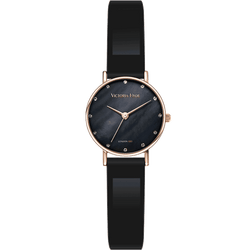 Loughton Leather Black Dial