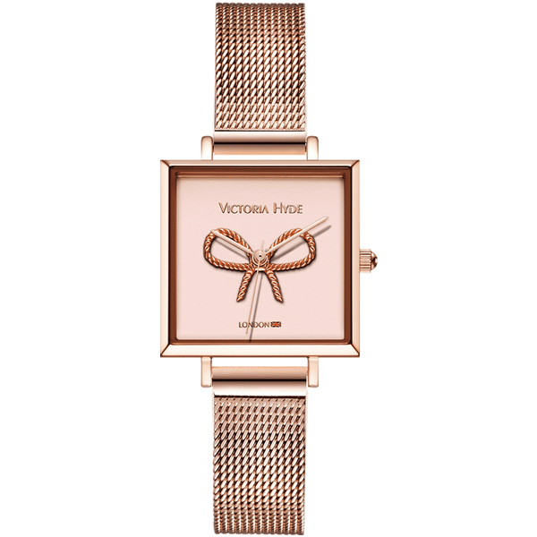 Watch Maida Vale Bow Edged Mesh Rose Gold