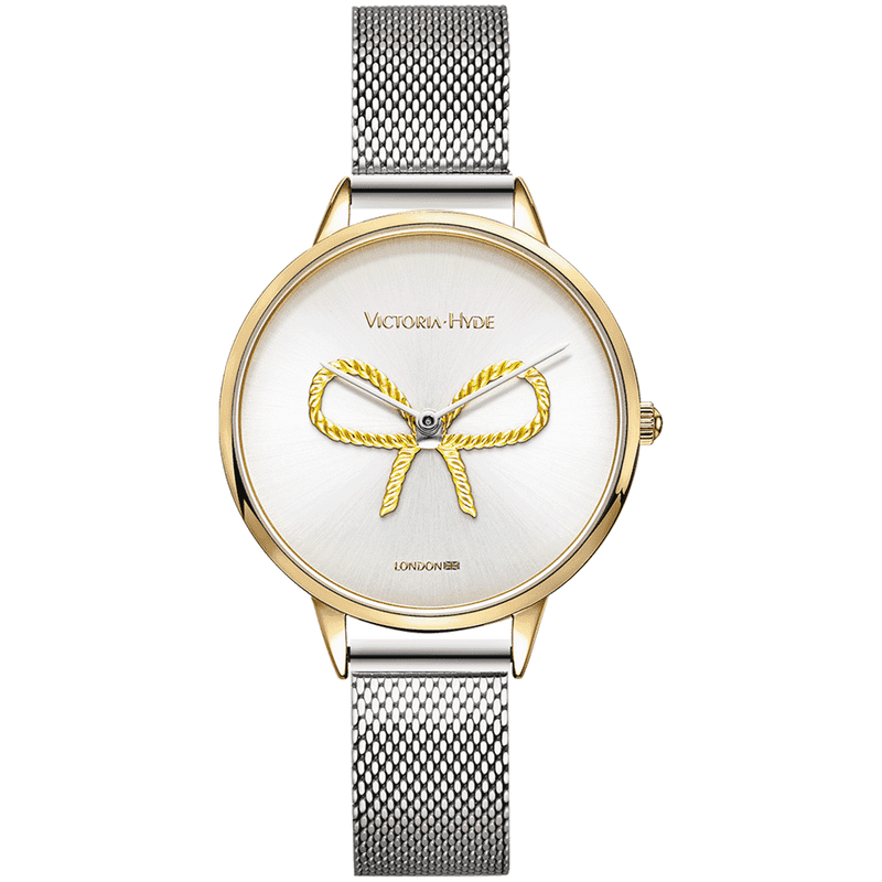 Watch Maida Vale Bow Mesh Silver Gold