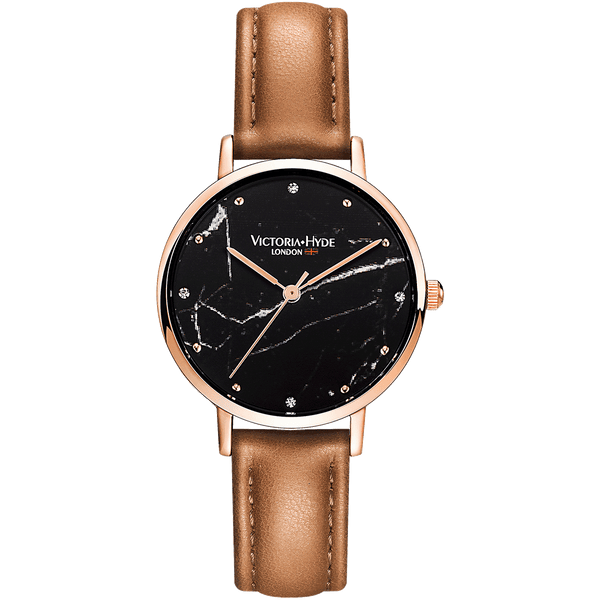 Watch Marble Arch Mineral Leather Brown Black