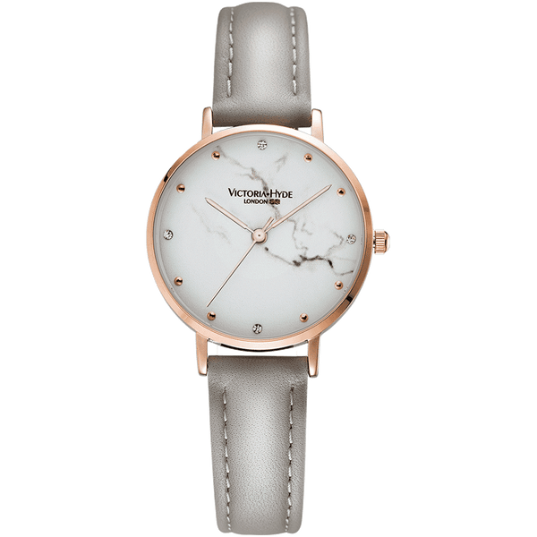 Watch Marble Arch Mineral Leather Grey White