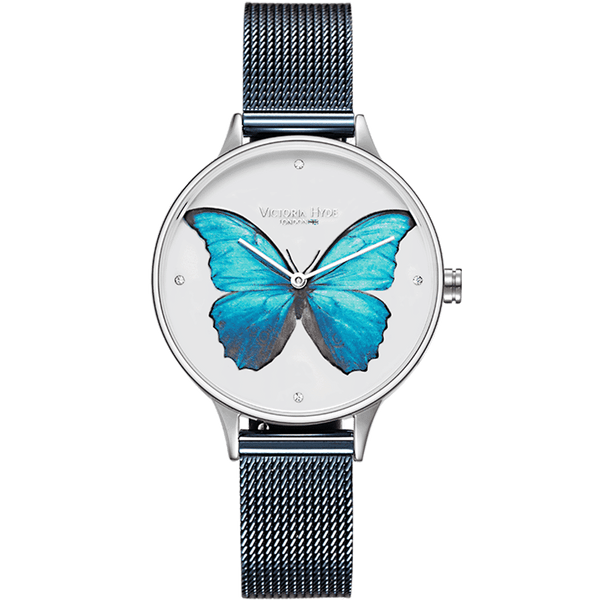 Watch Parsons Green Butterfly Mesh Blue White