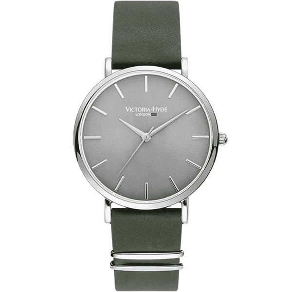 Watch Richmond Classic Leather Grey