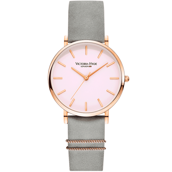 Watch Seven Sisters Classic Leather Grey Rose