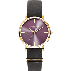 Watch Seven Sisters Simple Leather Grey Violet