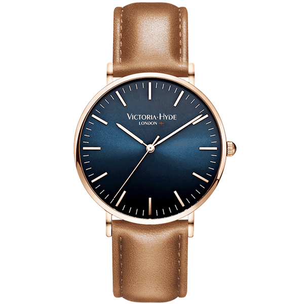 Watch Southfields Classic Leather Brown Blue