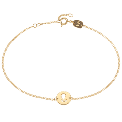 Bracelet Sudbury Hill Flower Gold
