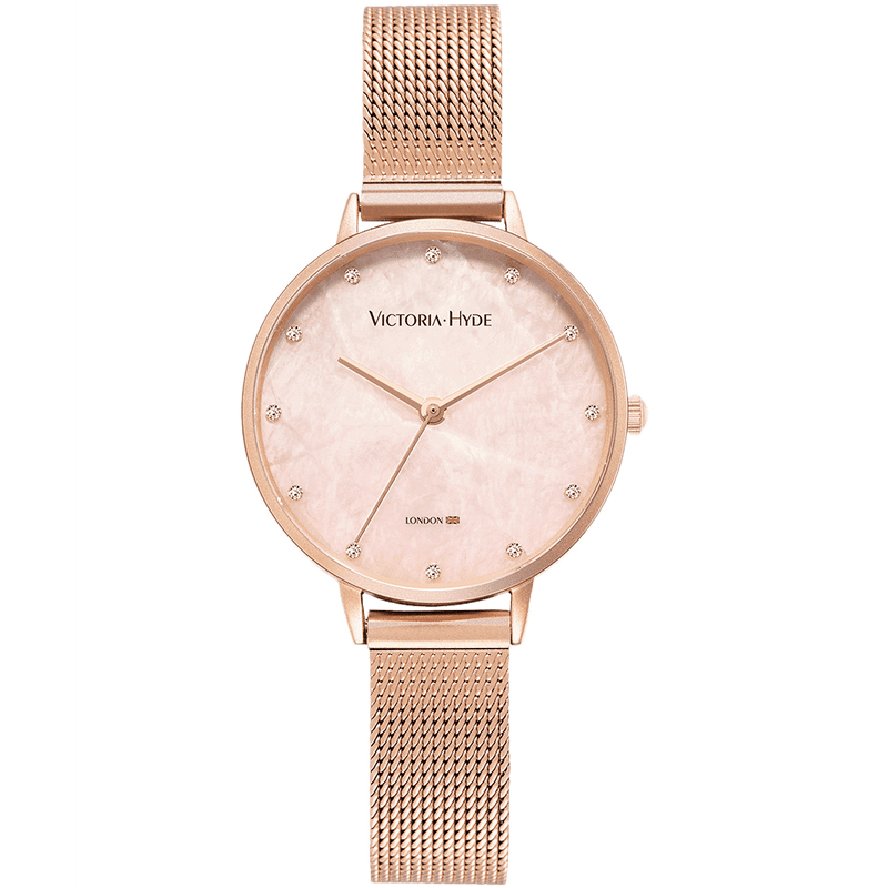 Tower Hill Mesh Rose Gold