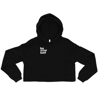 Be Yourself Crop Hoodie