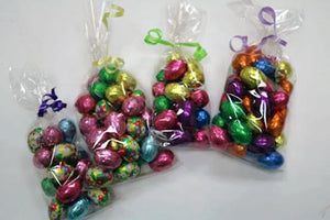 Foil Wrapped Eggs