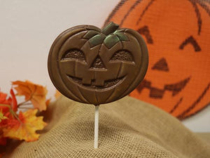 Large Pumpkin Lolli
