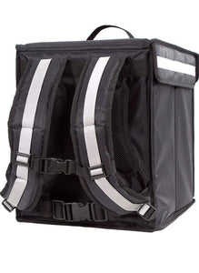 Black and Mobile Medium Food Delivery Bag - Black and Mobile