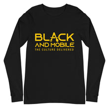 Load image into Gallery viewer, Black and Mobile: The Culture Delivered Women's Long Sleeve Shirt