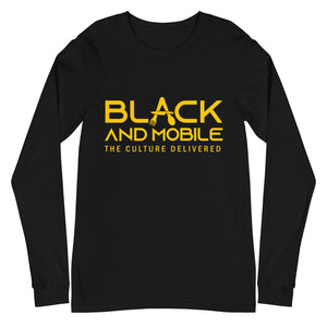 Black and Mobile: The Culture Delivered Women's Long Sleeve Shirt